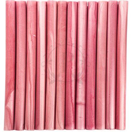 Rózsaszín színű 7mm-es – pecsétviasz rúd 10db / csomag