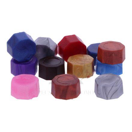 Pecsétviasz gyöngyök vegyes színben  – 45 db / csomag